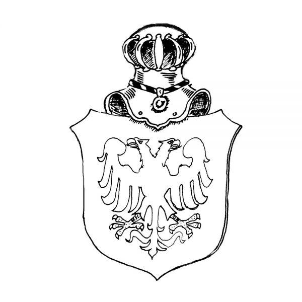 Schild-Gravur in Stein