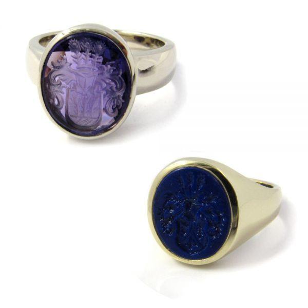 Aufpreis für Gravuren in Lapis-Lazuli