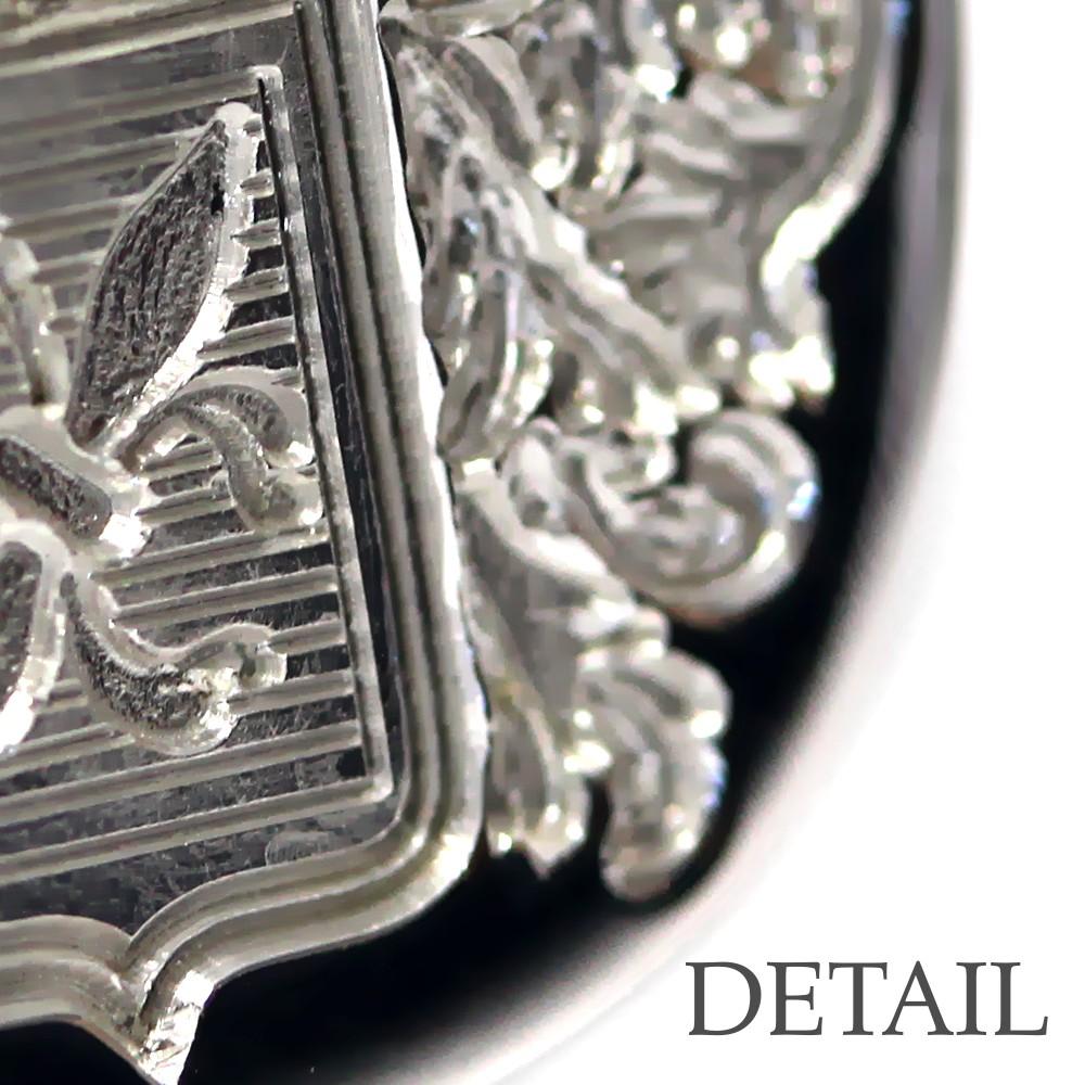 Wappengravur in Metall - vertiefte Gravur